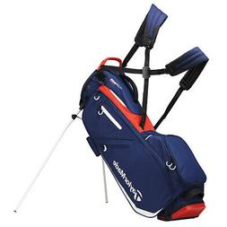 2019 TaylorMade Flextech Golf Stand Bag Navy/RedWhite