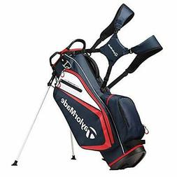 TaylorMade 2019 Golf Select Stand Bag Navy/Red/White