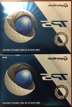 TaylorMade - 2019 - TP5  - Golf Balls - White - 2 Dozen - Br