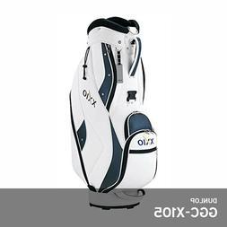 "Dunlop 2019 XXIO GGC-X105 Men Light Caddie Bag 9.5"" 6.5lb 4W"
