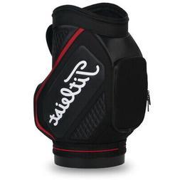 2020 Titleist Golf Den Caddy Golf Bag COLOR: Black with Red