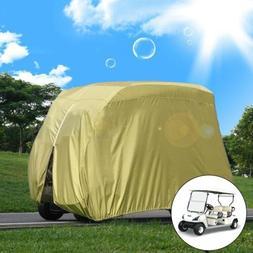 285x168x122cm Golf Cart Cover 210D Waterproof Club Car Roof