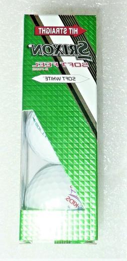 3 New Srixon Soft Feel Golf Balls With Royal Family Kids Bel