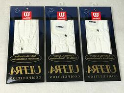 3 Wilson Ultra Cabretta Leather Golf Glove Mens Lg For Your