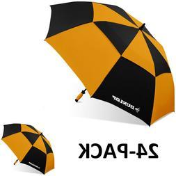 "Dunlop 60"" 24 Piece Pk Double Canopy 2-Person Golf Umbrella"