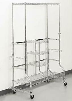SafeRacks Deluxe Golf Equipment Organizer Rack | Heavy-Duty