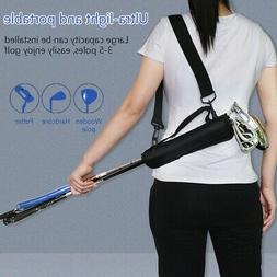 Accessories Gift Golf Club Carrier Bag For Driving Range Tra