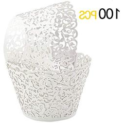 GOLF 100Pcs Cupcake Wrappers | Artistic Bake Cake Paper Fili