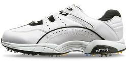 FootJoy Athletics Superlite Golf Shoes 56732 White/Navy Men'
