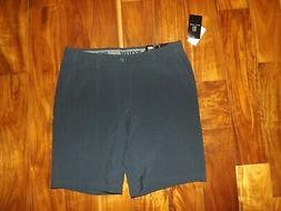 black iris navy blue shorts golf stretch