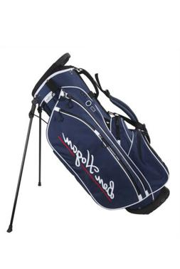 Brand New Ben Hogan BH1 Stand Bag Blue With White And Red Tr