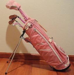 Brand New Ciscobay Golf Pink Girls Kids Golf Clubs Junior Se