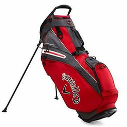 Callaway Golf 2020 Fairway 14 Stand Bag Red/Charcoal/White