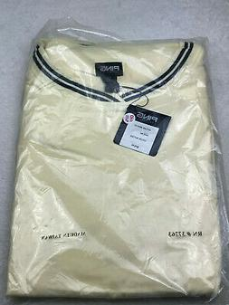 Ping Collection Pullover Golf Windshirt Mens Size 4XL Yellow
