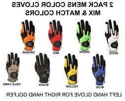 Zero Friction Compression-Fit Golf Glove 8 Color One Size Fi