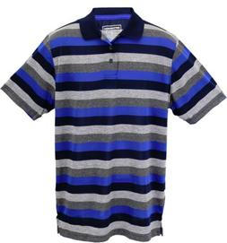 CONVERSION™ Men's Short Sleeve Fashion Stripe Polo Shirt