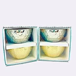 Modern Expressions Decorative Bowls Metallic Gold And Silver