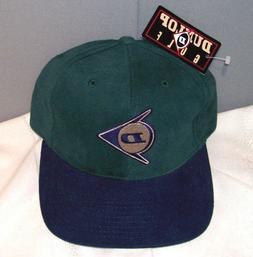 DUNLOP GOLF Embroidered Green & Navy Cotton Ball Cap