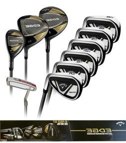 Callaway EDGE 10-Piece Men's Golf Clubs Set 10.5 Regular Rig