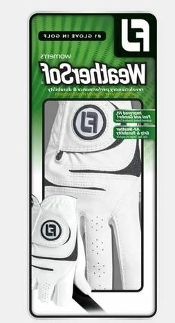 Footjoy FJ Weathersof Women's Golf Gloves NEW White RIGHT HA