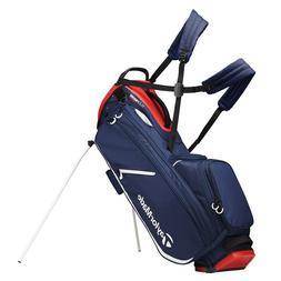 TaylorMade FlexTech Crossover Stand Golf Bag Blood Orange -