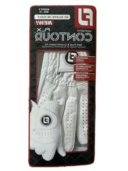 Footjoy FLX Contour Golf Glove WOMENS MED/LG LEFT Hand Pearl