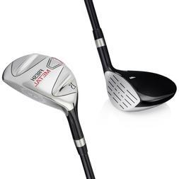 Founders Fresh Metal Golf Clubs Fairway Woods Graphite Shaft