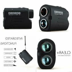 Gogogo Sport Laser Golf/Hunting Rangefinder, 6X Magnificatio