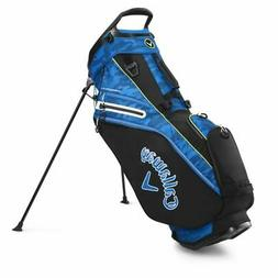 Callaway Golf 2020 Fairway 14 Stand Bag-Black Camo-Royal