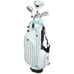 Orlimar Golf ATS Junior Girl's Sky Blue Kids Golf Set