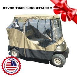 Golf cart driving enclosure 2 seater