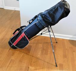 GOLF CLUBS - LEFT HANDED - NEW - DUNLOP - WITH 20 USED GOLF
