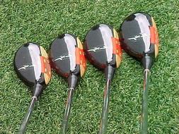 Ben Hogan Golf Clubs Woods set Driver 3 4 5 w Apex # 4 S Fle