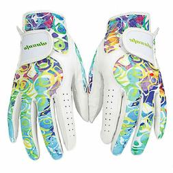 wosofe Golf Glove Double grip For both hands Luxury natural