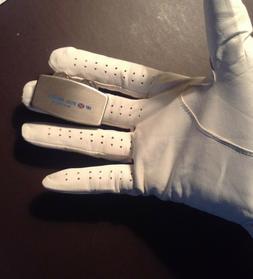 Dunlop Golf Glove Made of Cabretta Leather PLUS Zippo Greens