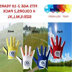 Golf Gloves Kids 2 Pack Boy Girl Junior Left Hand Right Smal