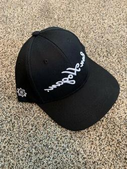 Ben Hogan Golf Hat Fitted Golf Hat - Black - Small/Medium