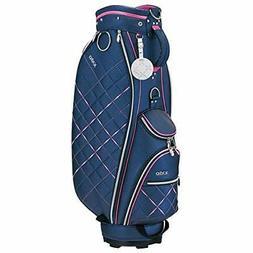 DUNLOP Golf Ladies Cart Caddy Bag XXIO 8.5 x 46 inch 3kg Nav
