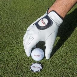 Golf Leather Glove for Left Hand with Ball Marker/ Kirkland