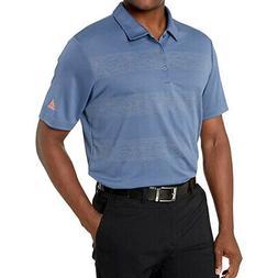 Adidas Golf Men's Plaid Key Polo Shirt NEW