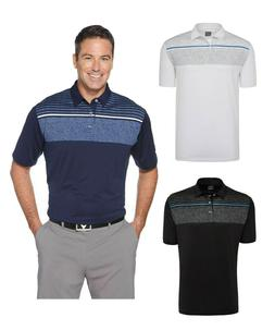 Callaway Golf - Men's Size S-4XL Chest Print Polo dri-fit Wi