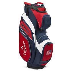 Callaway Golf Org 14 Cart Bag Red-Navy-Flag - New 2020