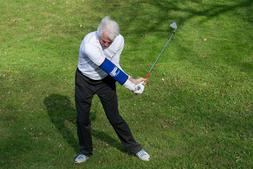 Golf Swing Trainer- Straight Arm- Promotes Lead Arm Straight