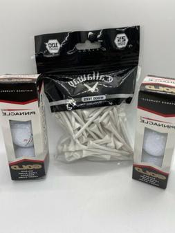 """Callaway Golf Wood Tees 100 Ct. 2 3/4"""" NEW"""