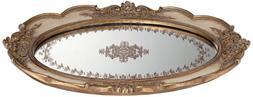 Iberia Gold Mirrored Decorative Tray