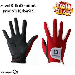 Kids Golf Gloves 2 Pack Left Hand Right Toddler Boy Girl All