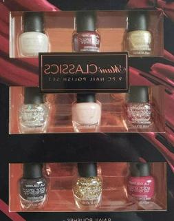 L.A. Colors Nail Polish Mani Nudes Classics Metals Travel Si