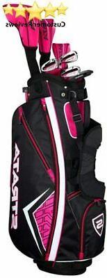 Callaway Women's Strata 11-Piece Golf Set Pink Right