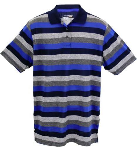 conversion mens short sleeve fashion stripe polo