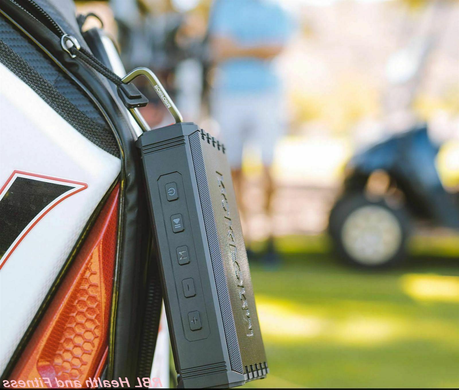 ROKFORM Portable Wireless Magnetic Golf Speaker Attach Cart or Bag